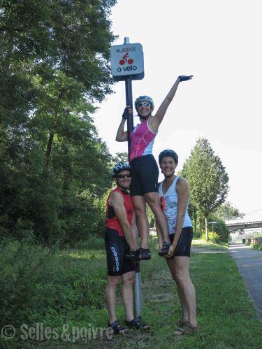 On aime l'Alsace à vélo
