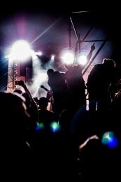Ambiance de concert