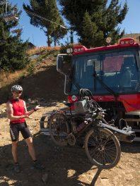 Ratrac porte-vélo
