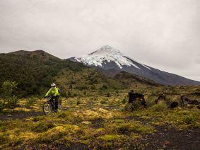 En route pour le volcan Osorno