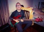 En mode bassiste !