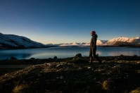 back to Lake Tekapo