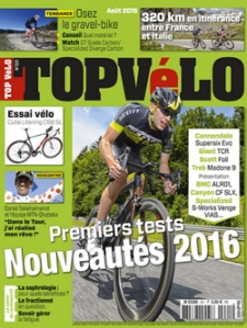 Top Vélo n°221, août 2015