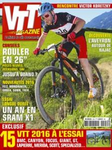VTT Magazine n°295, août 2015