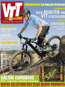 VTT Magazine n°297, octobre 215