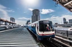 Skytrain, Bangkok : le train dans le ciel