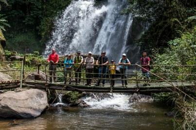 Picnic à la cascade