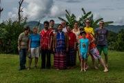 Photo de familles à Pha Mon Mai