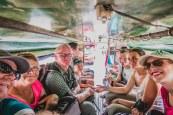 Retrouvailles familiales en Thaïlande : entassés dans le tuk-tuk!