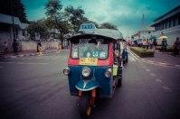 Tuk-tuk ride à Bangkok