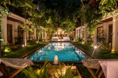 Fabuleux hôtel à Luang (erreur de clic!)Prabang