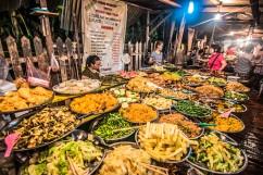 Buffet de marché, Luang Prabang