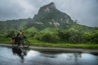 Route 13 entre Luang Prabang et Vang Vieng