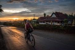 Sunset, plateau des Boloven