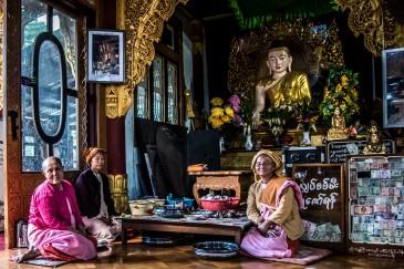 Hospitalité dans un temple, Kalaw