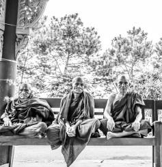 Trois sages dans un temple, Kalaw
