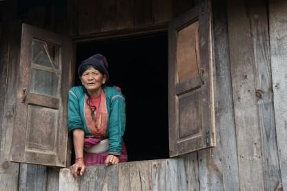 Visite dans un village Palang