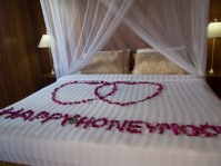 Mode honeymoon !!