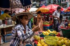 Marché, Yangon